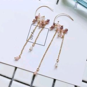Jewelry - Sparkling Beaded Boho Earrings